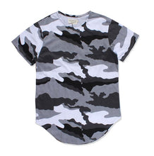 Load image into Gallery viewer, [BTS] Jimin Gray Camouflage T-Shirt Style
