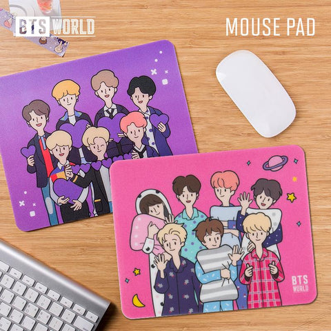 BTS WORLD Official Mouse Pad