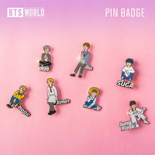 Load image into Gallery viewer, BTS WORLD Official Pin Badge