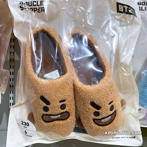BT21 Official Boucle Slippers