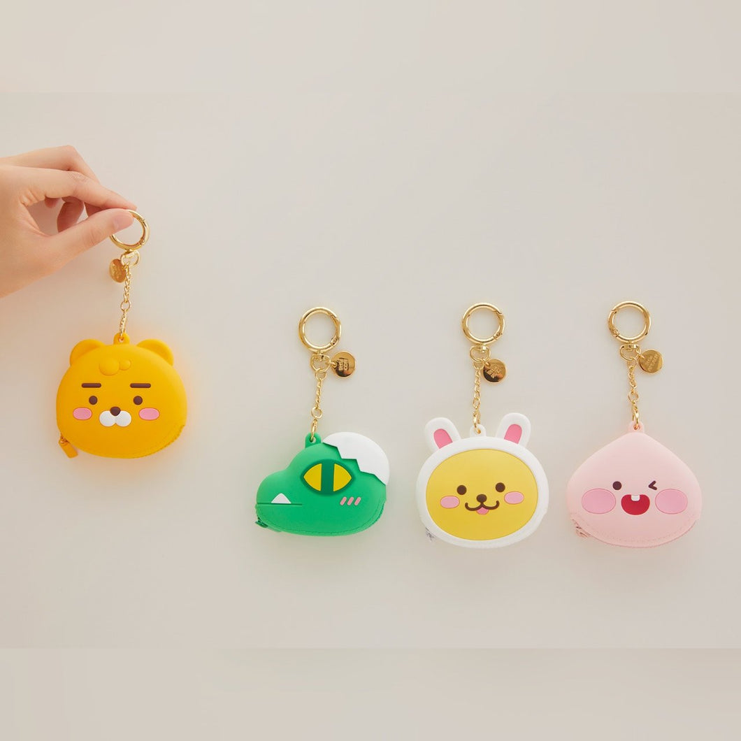 KAKAO FRIENDS - Official Silicone Coin Walllet
