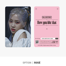 Load image into Gallery viewer, [YG] BLACKPINK CASHBEE Transportation Card