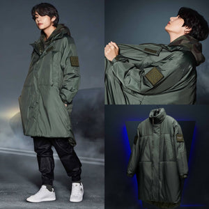 [FILA X BTS] Project 7: Monster Parka (Green)