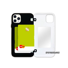 Load image into Gallery viewer, BTS OFFICIAL CHARACTER UPPER BODY Open Card Case (for iPhone)