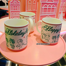 Load image into Gallery viewer, BTS OFFICIAL HOUSE OF BTS SEOUL MD – CHARACTER Mug Holiday Ver