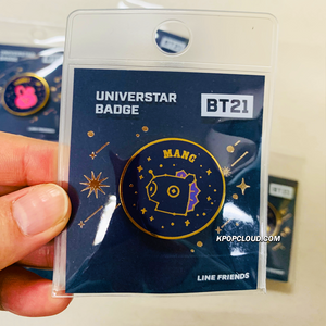 BT21 Official ''Universtar'' Badge Ver.2