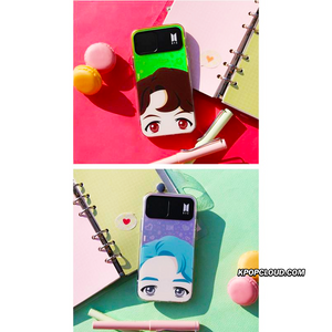 BTS OFFICIAL CHARACTER FULL FACE Light up Case (iPhone and Samsung)