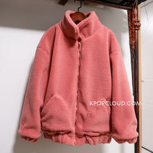 Load image into Gallery viewer, BTS Style ''Love'' Pink Jacket