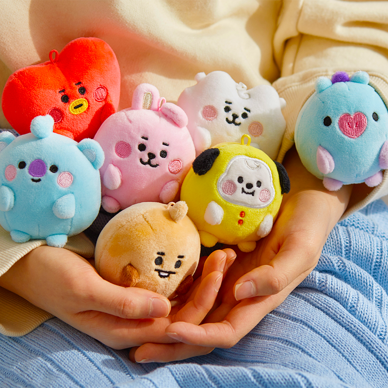 BT21 Official PongPong Standing 7cm Baby Version