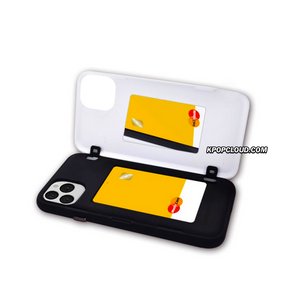 BTS OFFICIAL CHARACTER UPPER BODY Open Card Case (for Samsung)