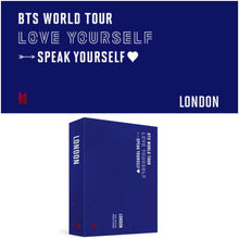 Load image into Gallery viewer, BTS World Tour LOVE YOURSELF: SPEAK YOURSELF in LONDON DVD (Free Shipping)