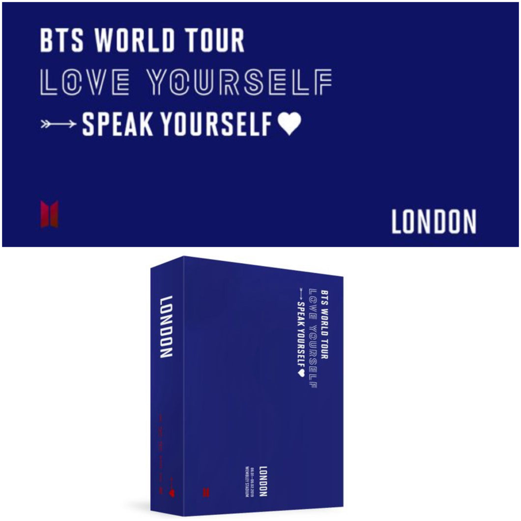 BTS World Tour LOVE YOURSELF: SPEAK YOURSELF in LONDON DVD (Free Shipping)