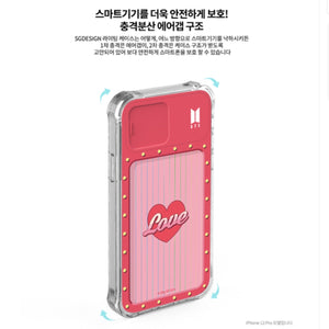 BTS ''Boy With Luv'' Light Up Case for iPhone and Galaxy
