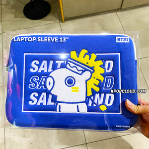 "BT21 Official 13"" Laptop Sleeve BITE Ver"