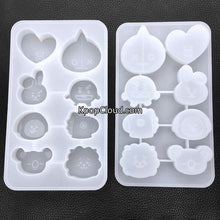 Load image into Gallery viewer, [FanGoods] BT21 Style Silicone Mold for Resin or Chocolate