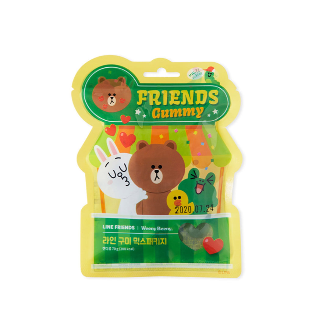 [LINE FRIENDS] Friends Gummy