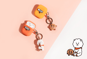 [BT21] Official Keyring Airpods Case