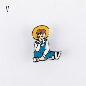 BTS WORLD Official Pin Badge
