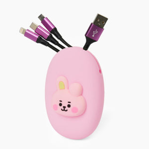 BT21 Official Multi Cable Pouch Set