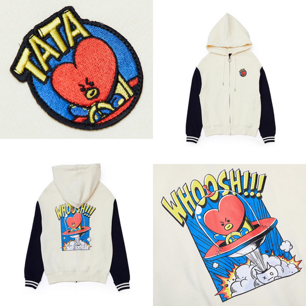 [BT21] Official Zip Up Hoodie