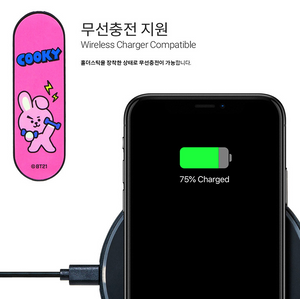 [BT21] Smartphone Holder Stick / Cellphone Grip Tok holder