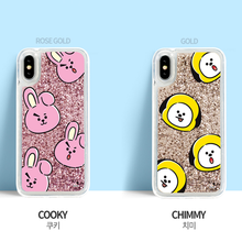 Load image into Gallery viewer, [BT21] Glitter Case Hang Out Pattern Series