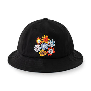 BT21 Official Bucket Hat Flower Version