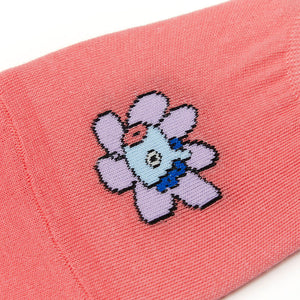 BT21 Official Boat Socks Flower Version