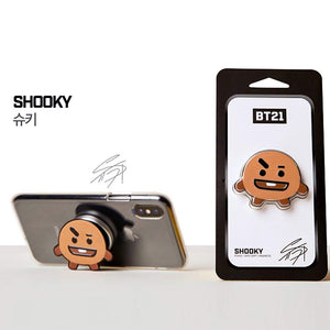 [BT21] Griptok Phone Stand / Safe Grip / Magnetic