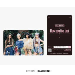 [YG] BLACKPINK CASHBEE Transportation Card
