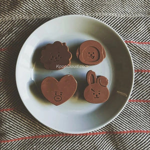 [FanGoods] BT21 Style Silicone Mold for Resin or Chocolate
