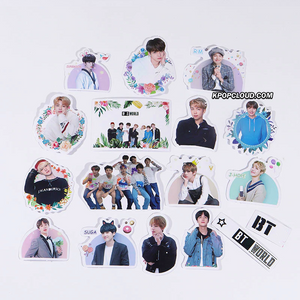 BTS STATIONARY DECORATION STICKERS