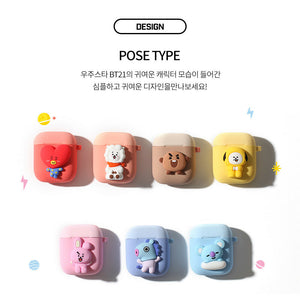 BT21 Official Body Airpods Case