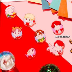 BTS OFFICIAL HOUSE OF BTS SEOUL MD – Magnet Holiday (SET/7ea)