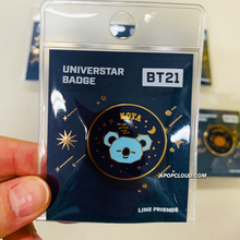 Load image into Gallery viewer, BT21 Official ''Universtar'' Badge Ver.2