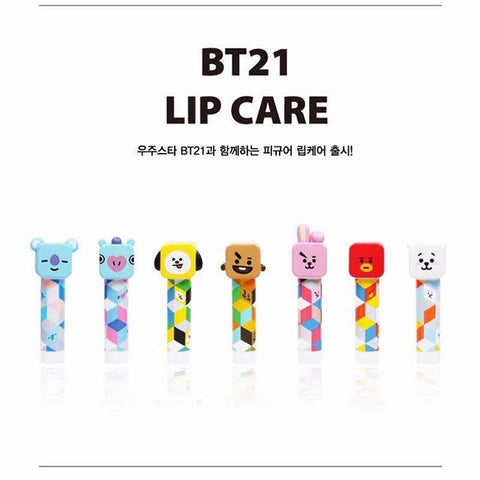 BT21 Official Figure Lip Balm