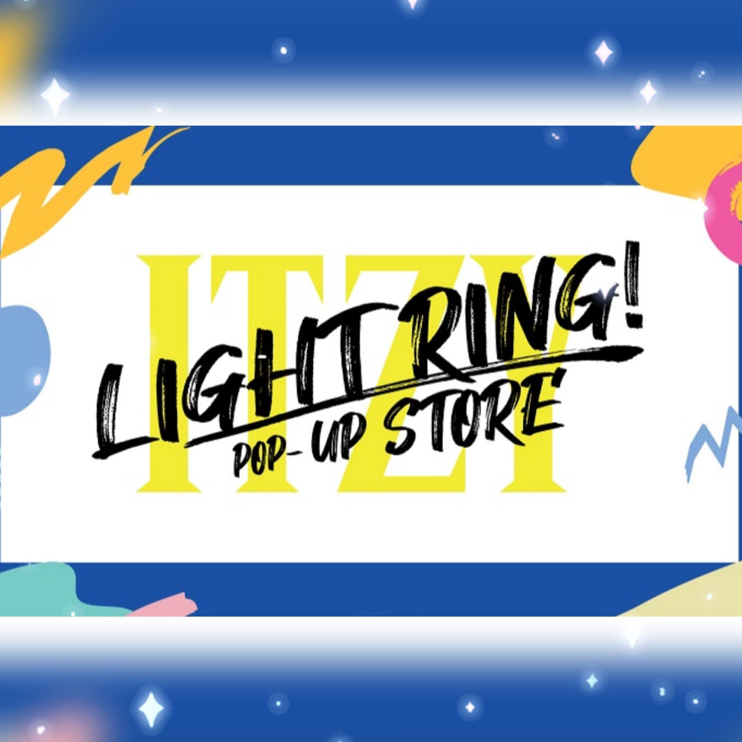 [JYP] ITZY OFFICIAL LIGHT RING POP-UP STORE