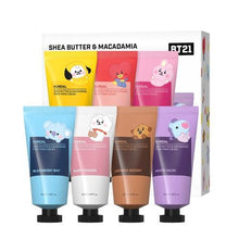 Load image into Gallery viewer, BT21 Official Shea Butter & Macadamia Pure Hand Cream 50ml (Single or SET)