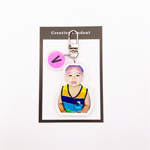 Load image into Gallery viewer, BTS Childhood Keychain