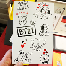 Load image into Gallery viewer, BT21 OFFICIAL TWOSOME 2020 DAILY KIT