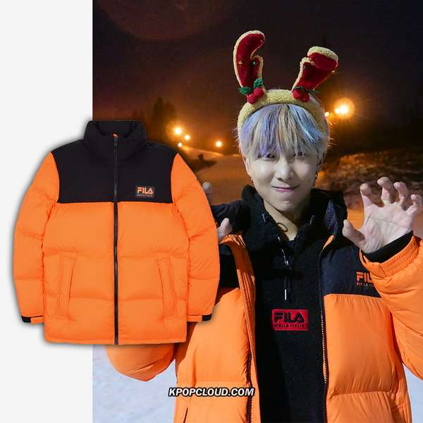 FILA X BTS - Pump Puffer Down Orange