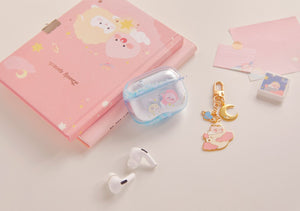 [KAKAO FRIENDS] Lovely Apeach AirpodsPro Case Glitter