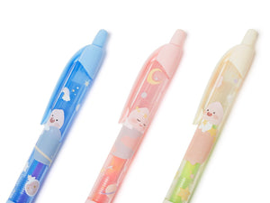 [KAKAO FRIENDS] Rainbow Pen 3ea Set-Lovely Apeach