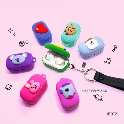 BT21 Official True Wireless Stereobuds Bluetooth Earphones (Express Shipping)