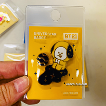 Load image into Gallery viewer, BT21 Official ''Universtar'' Badge