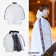 Load image into Gallery viewer, FILA X BTS - Tapey Short Down White