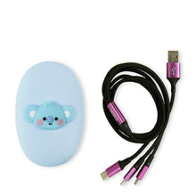 Load image into Gallery viewer, BT21 Official Multi Cable Pouch Set