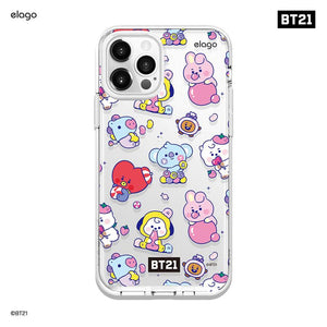 BT21 Official Baby Jelly Candy iPhone Case