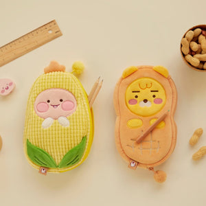 KAKAO FRIENDS - Official Soft Pencil Case