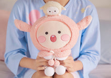 Load image into Gallery viewer, [KAKAO FRIENDS] Lovely Apeach Action Plush Toy